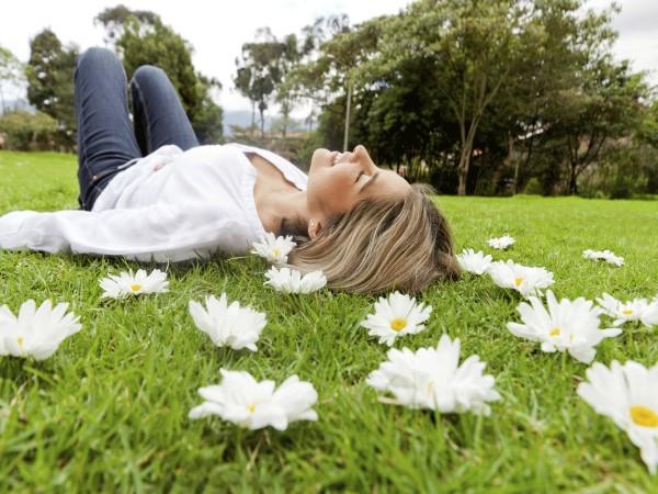 фото женщины расслабляются