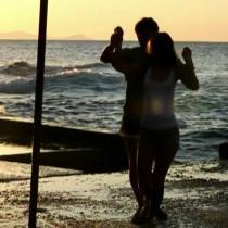 танец на берегу